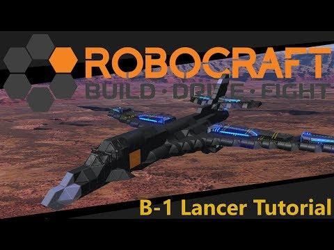Robocraft - B-1 Lancer Tutorial