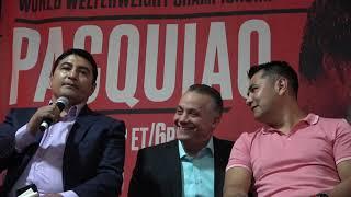 barrera - very hard to hit manny pacquiao EsNews Boxing