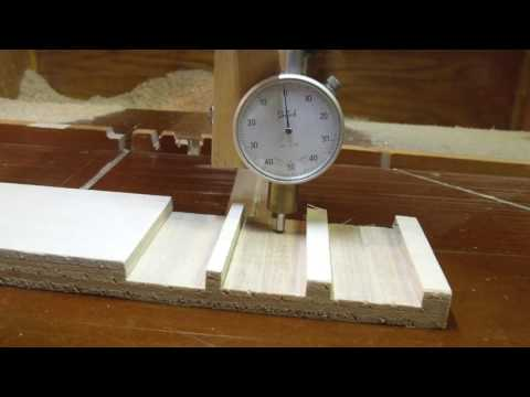 Comparison of Three Stacked Dado Sets on a Radial Arm Saw