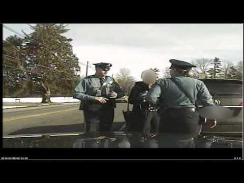 Dashcam video shows arrest of Princeton professor