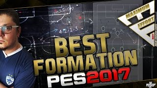 PES 2017 BEST FORMATION (Online Division Series Kick off)