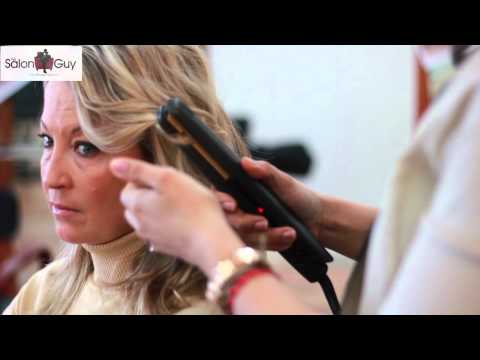 Beachy Waves Celebrity Hair with a Flat Iron feat. Kristin Cavallari