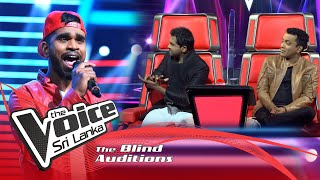 John Premshan -We Are The Champions | Blind Auditions | The Voice Sri Lanka