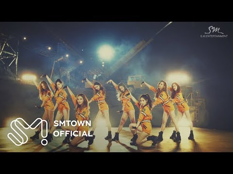 Video: SNSD - Catch Me If You Can
