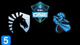 Liquid vs Newbee Game 5 Grand Final ESL One Genting 2018 Highlights Dota 2