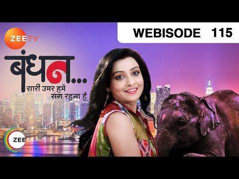 Bandhan Saari Umar Humein Sang Rehna Hai - Episode 115 - February 17, 2015 - Webisode video
