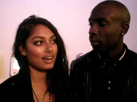 Future Stars TV 11 Model Sam Sarpong and Friend Mala At Pink Tarton Show Toronto Fashion Week Video