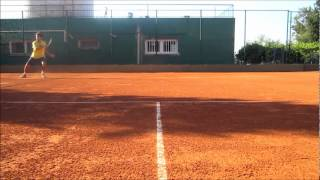 Functional Tennis - Resistant training on court for tennis players