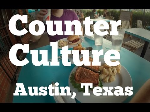 Visit to Counter Culture Vegan Restaurant in Austin, TX
