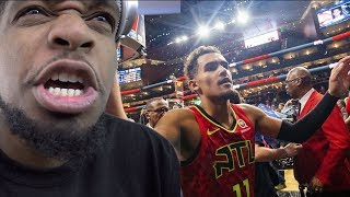 ALREADY BETTER THAN CURRY! TRAE YOUNG BACK TO BACK 40 POINT GAMES