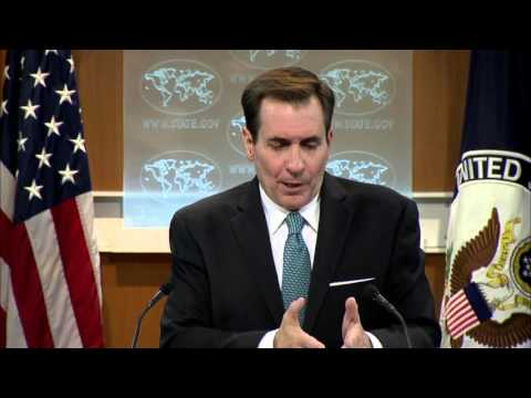 Kirby: Syrian elections not credible, nix apt comparisons. 14 Apr 2016