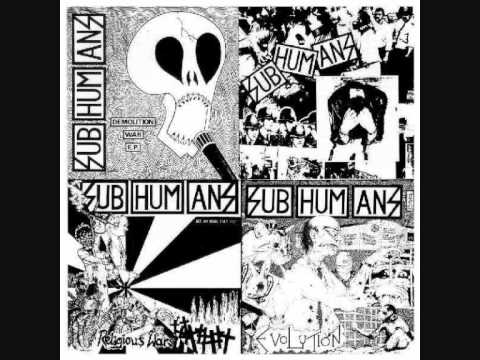 Subhumans - Society