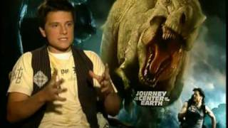 Josh Hutcherson on Journey to the Center of the Earth 3D