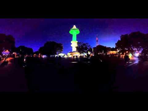 [360 VR] N Seoul Tower Night View