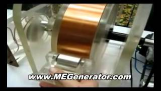 DIY Alternative Energy - Free Energy Magnet Generator - Easy to Build Instructions