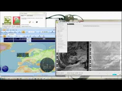 Receiving NOAA-19 using Funcube Dongle