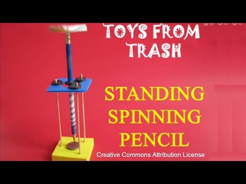 Standing Spinning Pencil | Punjabi