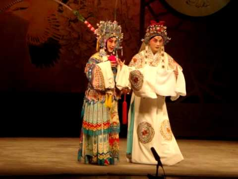 Peking Opera At Yifu Theater In Shanghai, China video