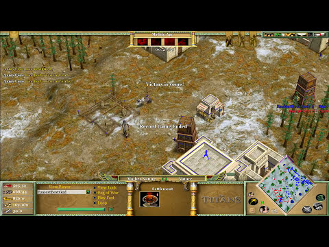Magyar vs ArmyCore   Age of Mythology The Titans
