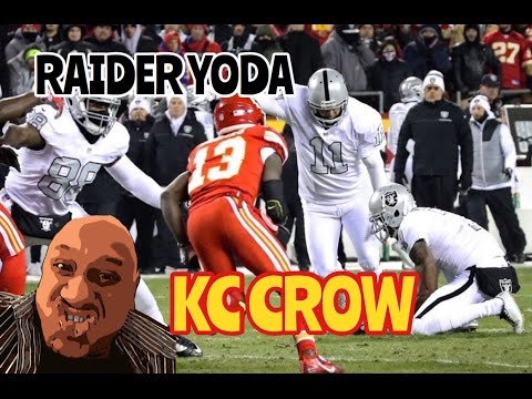 Raiders Instant Game Reaction Loss Kc Crow Postgame