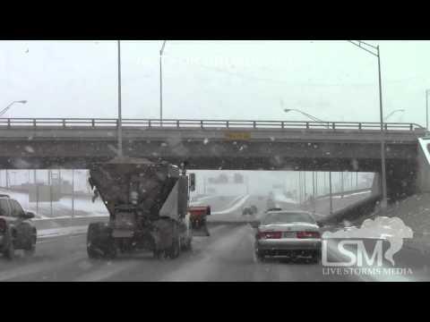 11-16-14 Oklahoma City Snow-Ice-Spinouts