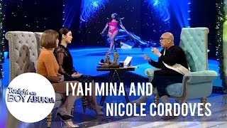TWBA: Nicole reveals the struggles of Catriona in preparing for her famous slow-mo twirl