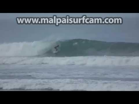 Mal Pais Costa Rica, www malpaisurfcam com 09 09 15 Surfing Santa Teresa