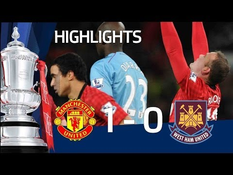 Manchester United 1-0 West Ham - Rooney goal and full highlights | The FA Cup 3rd Round Replay 2013