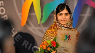 Child Rights Hero Malala Yousafzai World's Children's Prize