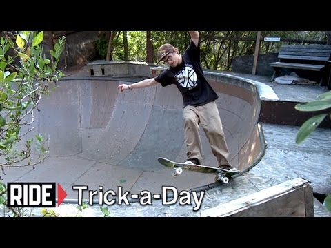 How-To Fakie to 5-0 with Ben Raybourn - Trick-a-Day