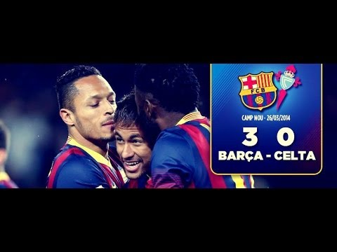 Barcelona 3:0 Celta Vigo | All Goals & Match Highlights