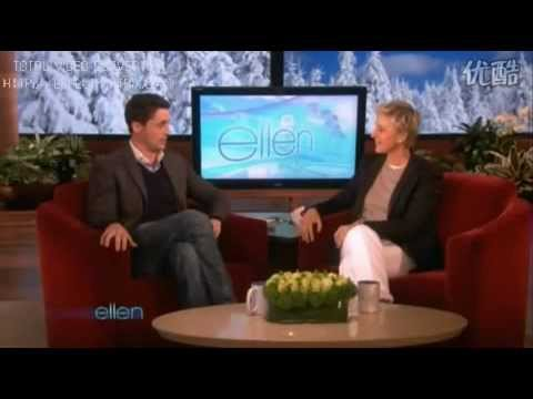 Matthew Goode on the Ellen Degeneres Show