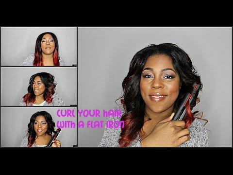 How to Curl Hair with FHI Flat Iron