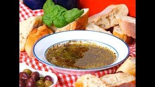 Olive Oil & Balsamic Bread Dip | Appetizer