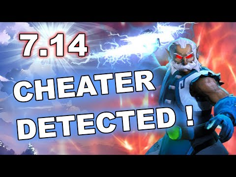 Dota 2 ZEUS cheater with AUTO NIMBUS - 7.14 patch!