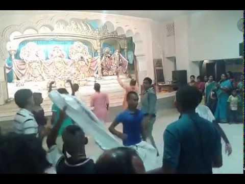 Mangala Arati At Iskcon Temple, Habibpur, Ranaghat, Mayapur, Nadia, Bengal video