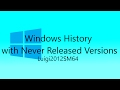Youtube Thumbnail Windows History with Never Released Versions - Revision 1