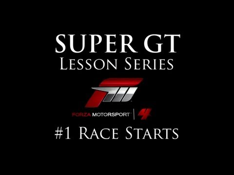 Forza 4 Lesson Series: Episode #1 - Race Starts