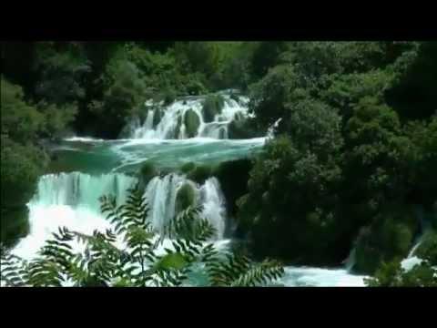 1 Kroatien Krka-Wasserfaelle bei Sibenik