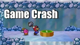 Hitting This Switch 121 Times Crashes Paper Mario
