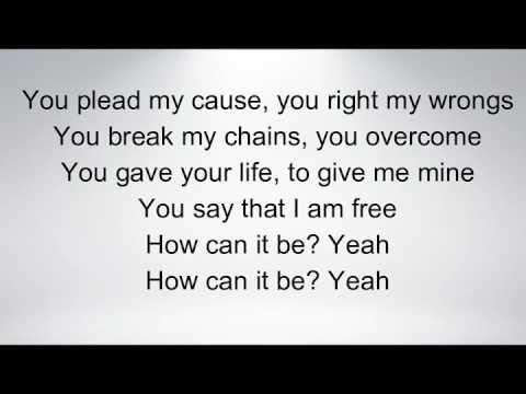 How Can It Be- Lauren Daigle (Lyrics)
