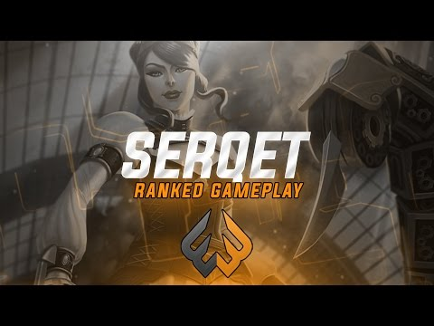 Serqet Ranked: THE SNOW BALL IS A REAL THING - Smite