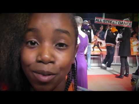 Akai [Got to Dance] freestyle rapping at Street Dance 2 World Premiere [EXCLUSIVE]