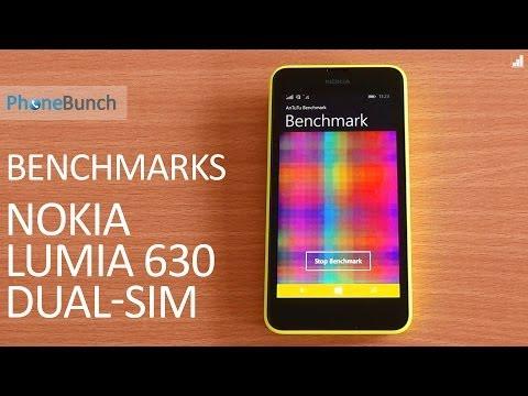 Nokia Lumia 630 Dual SIM Benchmarks