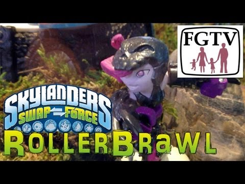 Skylanders Swap Force Roller-Brawl - Gameplay Hands-On at E3