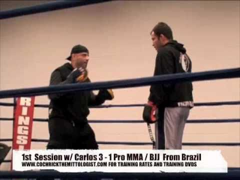 Coach Rick Boxing - MMA / UFC Standup Training / Mayweather Mittwork / Focus Pad Workout Image 1