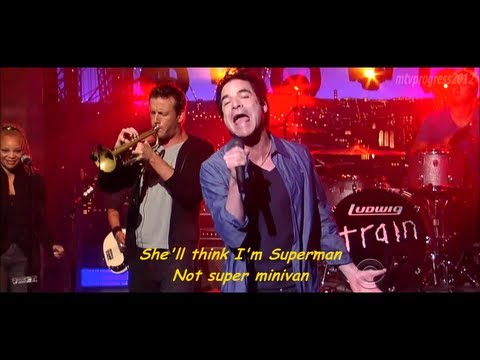 Train - 50 Ways To Say Goodbye [ Live On David Letterman 2012 ] ( Lyrics ) video