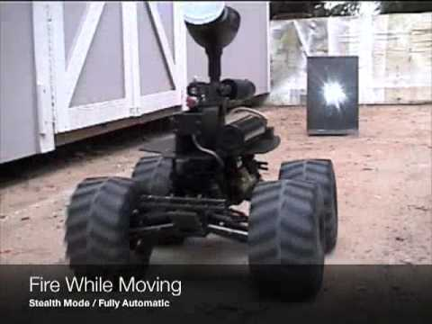 Paintball UGV