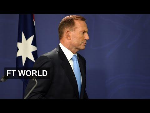 Australian PM faces leadership vote