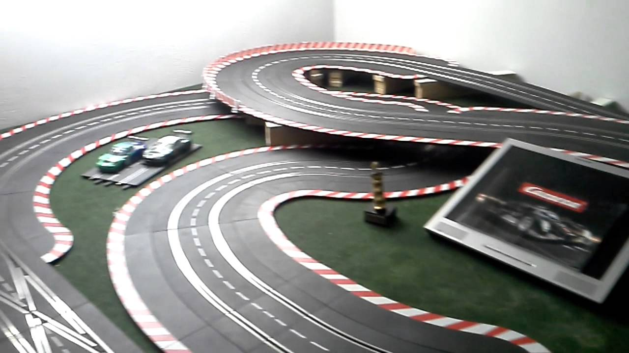 Carrera Gentleman Racing Ultimate Race Festaufbau Youtube